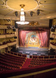 Interior of an empty theatre. In Quito Ecuador Royalty Free Stock Photo