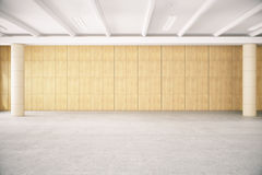 Interior with empty wall Royalty Free Stock Image
