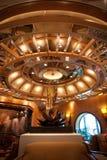 Interior en Cruiseship Imágenes de archivo libres de regalías