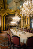 Interior en el Louvre Foto de archivo