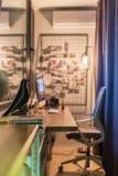 Interior en estilo del desván Imagenes de archivo