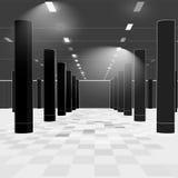Interior en líneas Fotografía de archivo
