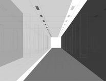Interior en líneas Fotos de archivo libres de regalías