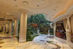 Interior en Las Vegas, nanovoltio del hotel de Wynn el 2 de agosto de 2013 Imagenes de archivo