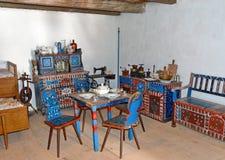 Interior en Transilvania - Rumania fotografía de archivo libre de regalías