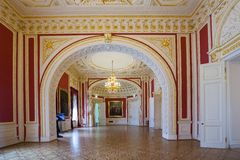 Interior of Engineer's Castle (Mikhailovsky Castle), St. Petersb Stock Images
