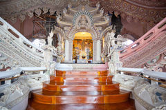 Interior of erawan museum Royalty Free Stock Images