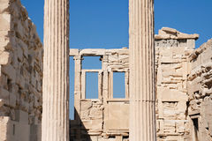 Interior of the Erechteum Royalty Free Stock Image