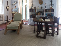 Interior of the Ernest Hemingway House, Key West Stock Images