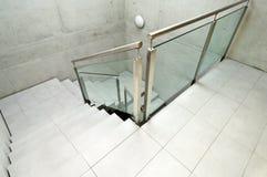 Interior, escalera Imágenes de archivo libres de regalías