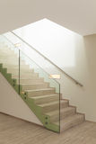 Interior, escalera de mármol Imagen de archivo libre de regalías