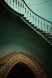 Interior escuro na casa de cortiço Imagem de Stock Royalty Free