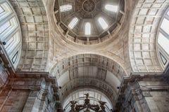 Interior of the Estrela Basilica in Lisbon, Portugal Stock Photography