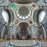 Interior of Esztergom Basilica, Hungary Royalty Free Stock Photo