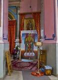 Interior of  The Ethiopian Church on Ethiopia Street in Jerusale Stock Photo