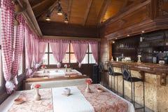 Interior ethnic restaurants Stock Photography