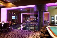 Interior of european casino Stock Images