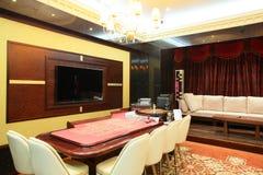 Interior of european casino Stock Image