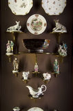 Interior europeo de Seattle Art Museum de la porcelana Imágenes de archivo libres de regalías