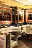 Interior europeo hermoso del club de noche Fotografía de archivo