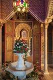 Interior exótico en la casa marroquí imágenes de archivo libres de regalías