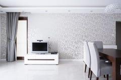 Interior exclusivo de la sala de estar Fotografía de archivo libre de regalías