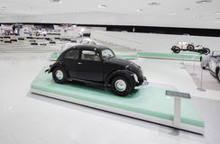 Interior Exhibits of Porsche Museum Buggy and More Royalty Free Stock Photo