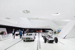 Interior Exhibits of Porsche Museum Racecar 718 Royalty Free Stock Photos