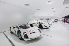Interior Exhibits of Porsche Museum Racecar 300 Stock Photography