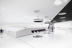 Interior Exhibits of Porsche Museum Stock Photos