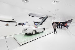 Interior Exhibits of Porsche Museum Royalty Free Stock Photography