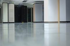 interior för 2 datacenter Arkivbilder