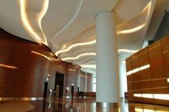 interior för arkitekturbyggnadsaffär Arkivfoto