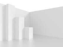 interior för design 3d Royaltyfri Bild
