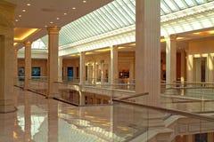 interior för stor byggnad Royaltyfri Bild
