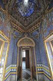 The interior of a fable Villa. View of the interior of a fable Villa royalty free stock images