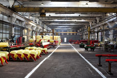 Interior of a factory Royalty Free Stock Photo