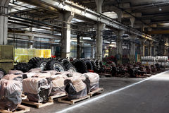 Interior of a factory Royalty Free Stock Images