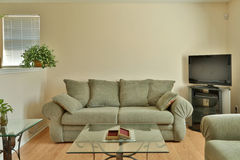 Interior of a family living room Stock Image