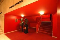 Interior famoso del teatro Imagenes de archivo