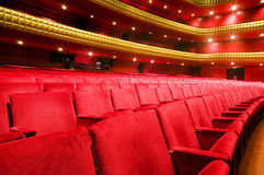 Interior famous national theater nicaragua Royalty Free Stock Photography