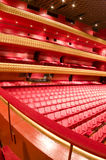 Interior famous national theater nicaragua. Ruben Dario National Theater Managua Nicaragua interior plush red velvet seats Central America Royalty Free Stock Photos