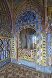 Beautiful fairy tale castle royalty free stock photo