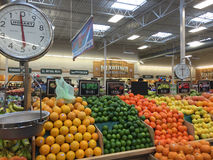 Interior of   farmers market Sprouts Stock Image