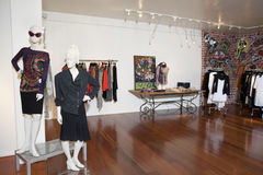 Interior of a fashion boutique Royalty Free Stock Photo