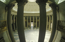 Interior of Federal Hall in New York, NY where George Washington was inaugurated Royalty Free Stock Photography