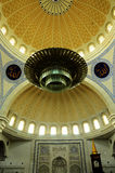 Interior of Federal Territory Mosque a.k.a Masjid Wilayah Persekutuan Royalty Free Stock Photography