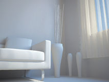 interior fem ställde in trettio Royaltyfria Foton