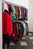 Interior femenino del departamento Fotografía de archivo