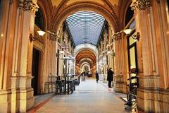 Interior of Ferstel Passage in Vienna, Austria Royalty Free Stock Photo